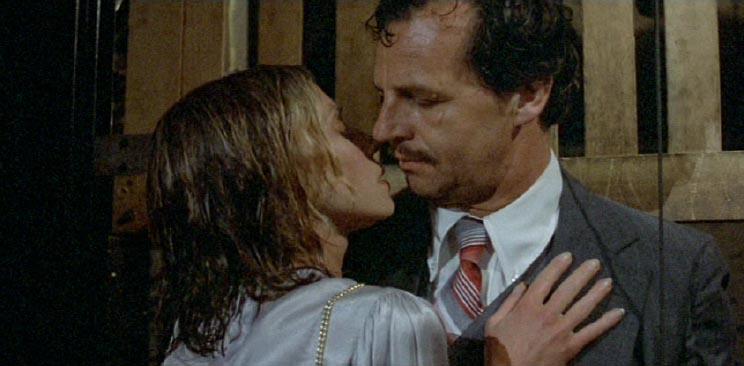 Paul Dooley and Marta Heflin in A Perfect Couple (1979)
