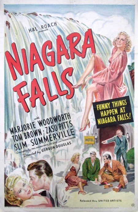 Tom Brown and Marjorie Woodworth in Niagara Falls (1941)