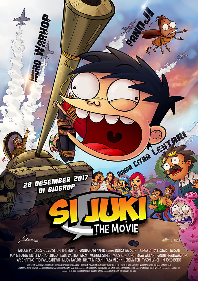 Si Juki The Movie: Panitia Hari Akhir (2017)