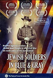 Jewish Soldiers in Blue & Gray Poster