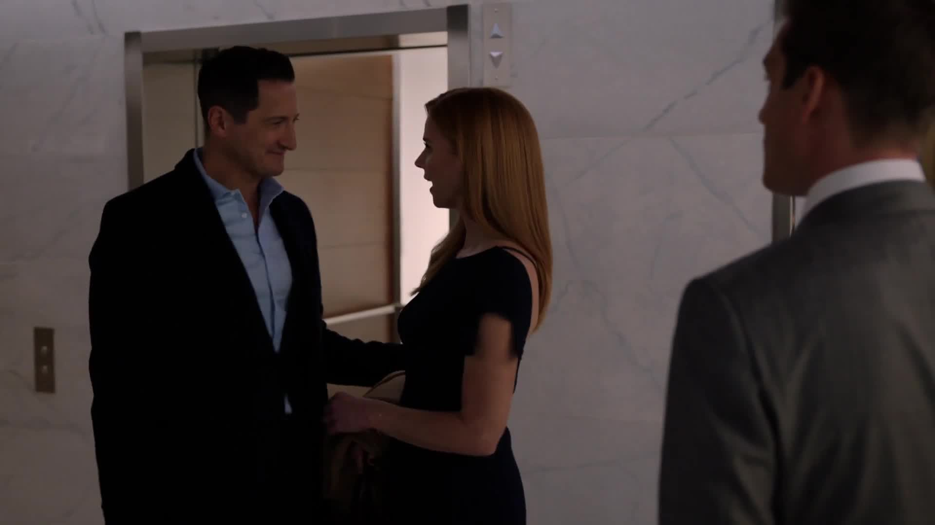 suits harvey watches donna leave with thomas suits harvey watches donna leave with