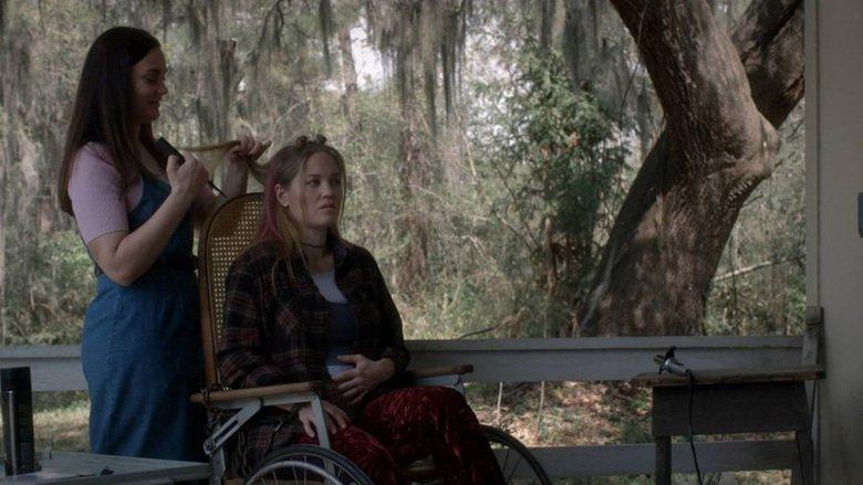 Erika Christensen and Bethany Lauren James in The Follower (2016)