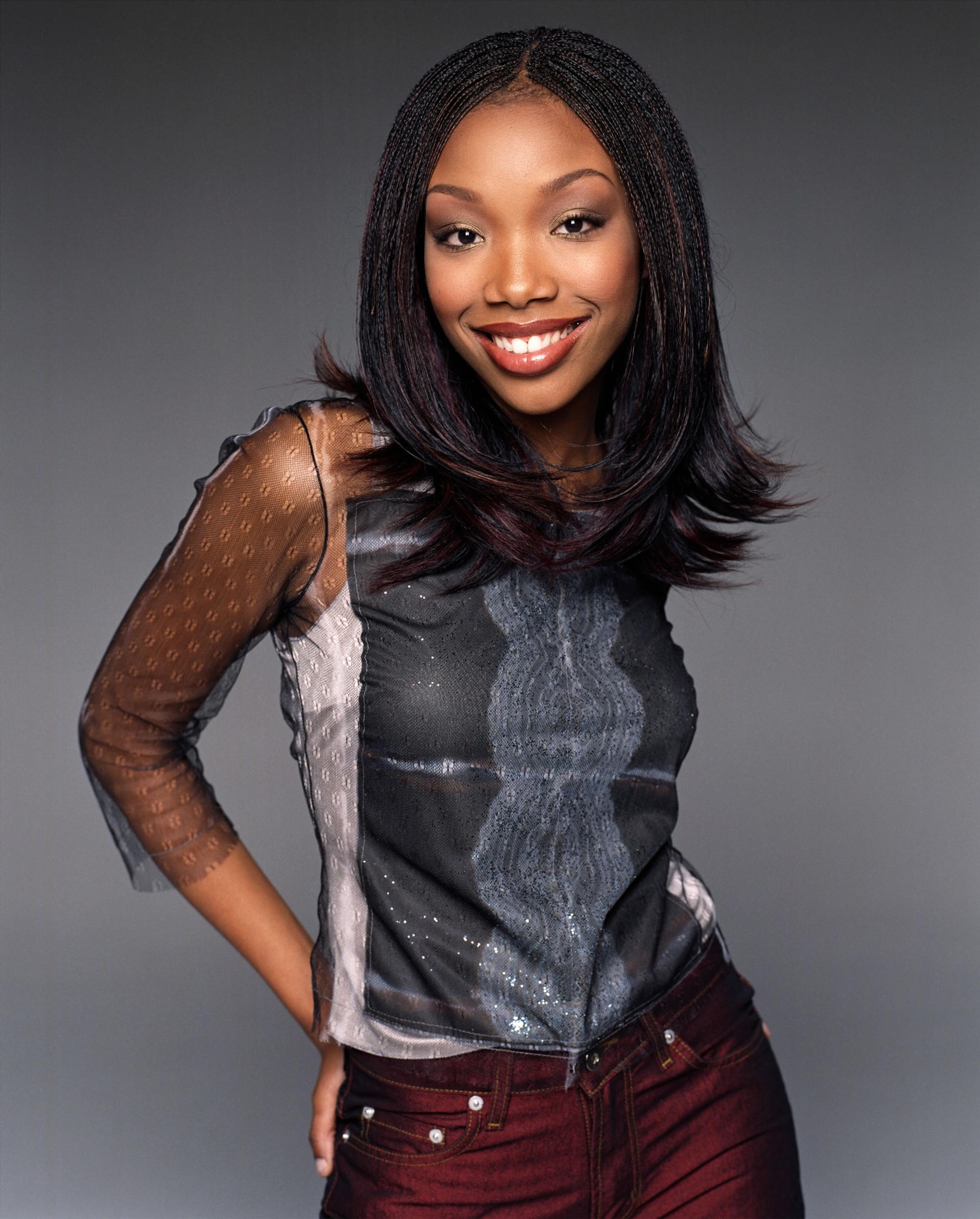 Brandy Norwood at an event for Moesha (1996)