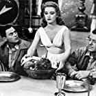 John Agar, Hugh Beaumont, and Cynthia Patrick in The Mole People (1956)