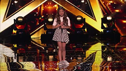 America's Got Talent: The Champions: Angelica Hale Receives Golden Buzzer From Howie