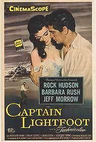 Rock Hudson and Barbara Rush in Captain Lightfoot (1955)