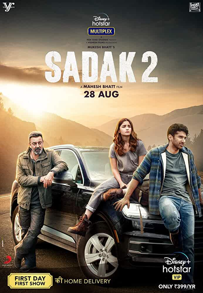 Sadak 2 (2020) Hindi DSNP+ WEB-DL x264 AAC Esub