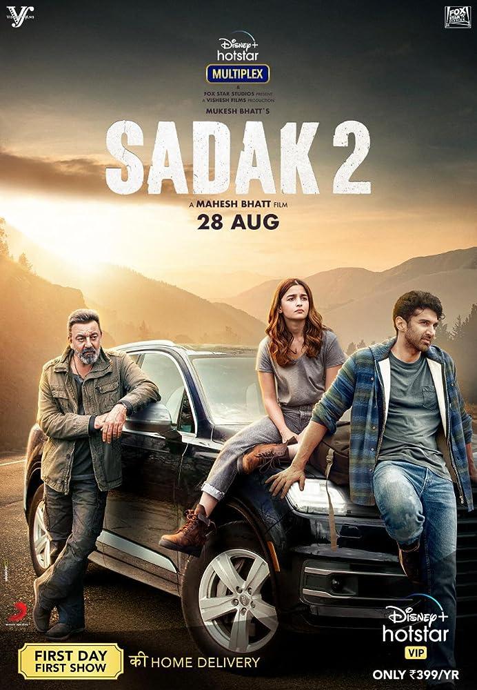 Sadak 2 (2020) New Bollywood Hindi Full Movie Download 400MB And 1Gb HDRip ESubs