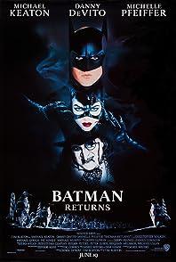 Batman Returns แบทแมน รีเทิร์นส ตอนศึกมนุษย์เพนกวินกับนางแมวป่า