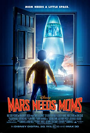مشاهدة فيلم الكرتون المريخ يحتاج الي الامهات Mars Needs Moms مدبلج أونلاين مترجم
