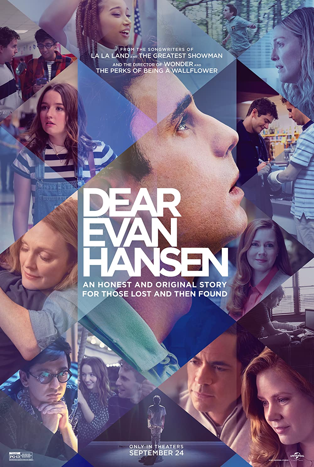 Dear Evan Hansen 2021 English Movie 480p HDRip 439MB Download