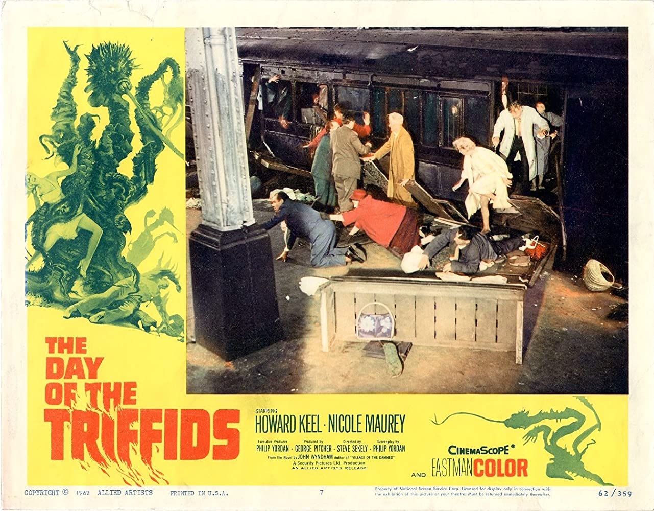Ernie Rice in The Day of the Triffids (1963)