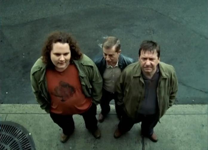 Rémy Girard, Claude Laroche, and Antoine Bertrand in Les Bougon: C'est aussi ça la vie (2004)