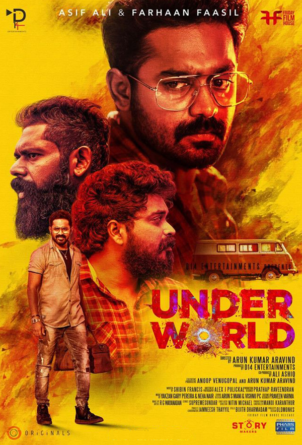 Under World 2019 Malayalam Movie 450MB HDRip ESubs Download