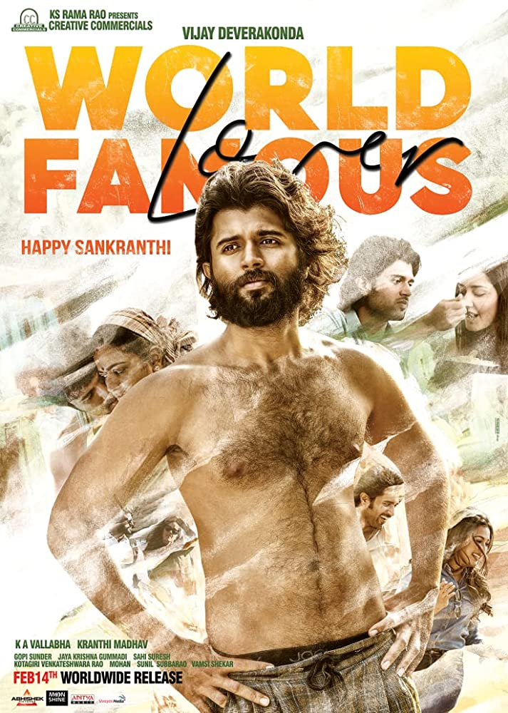 World Famous Lover (2020)Tamil – 720p HQ Pre-DVDRip