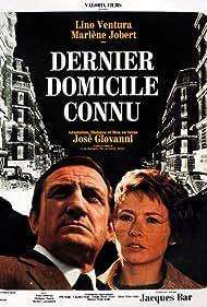 Marlène Jobert and Lino Ventura in Dernier domicile connu (1970)