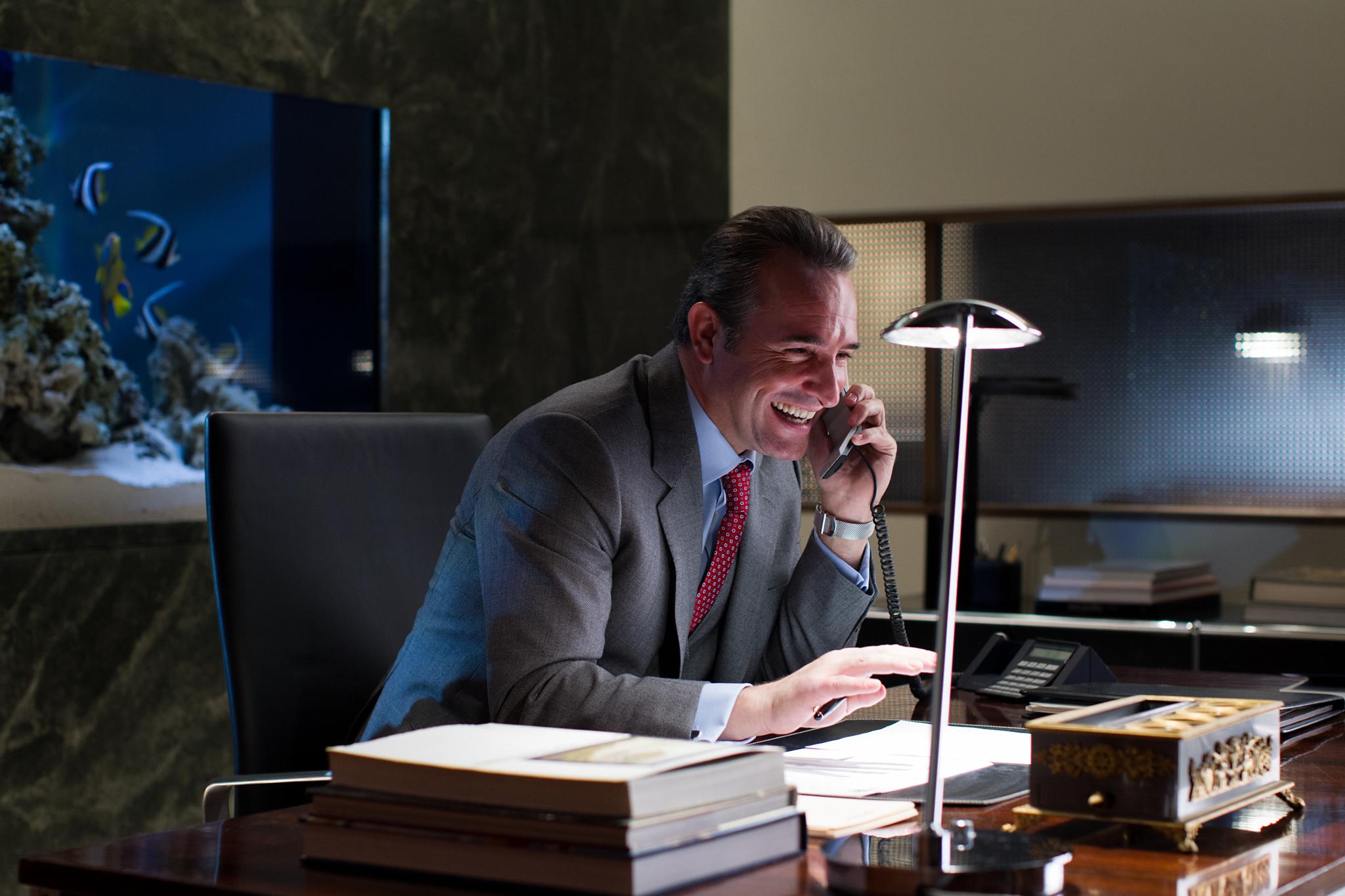 Jean Dujardin in The Wolf of Wall Street (2013)