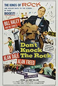 Little Richard, Bill Haley, Dave Appell, Alan Dale, Alan Freed, Bill Haley and the Comets, The Treniers, and Applejacks in Don't Knock the Rock (1956)