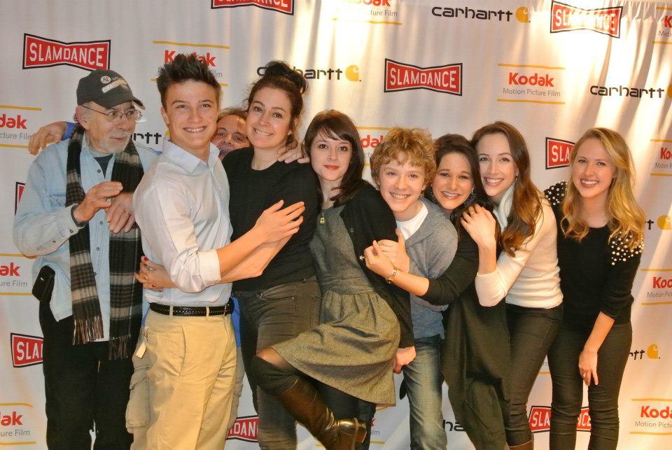 "The cast of ""Jug Face"" at Slamdance 2013."