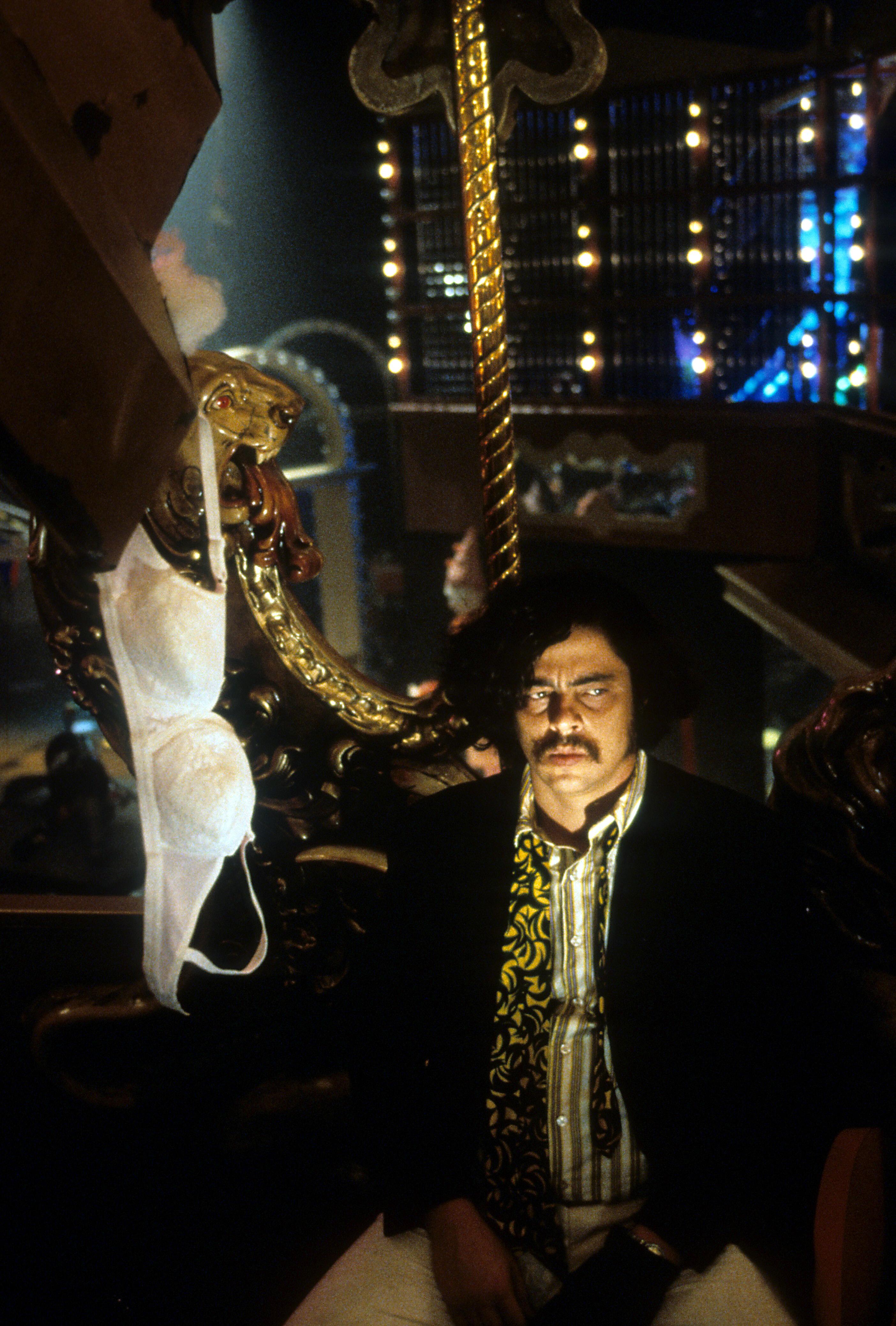 Benicio Del Toro in Fear and Loathing in Las Vegas (1998)