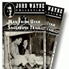 John Wayne and Polly Ann Young in The Man from Utah (1934)