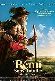 Daniel Auteuil and Maleaume Paquin in Rémi sans famille (2018)