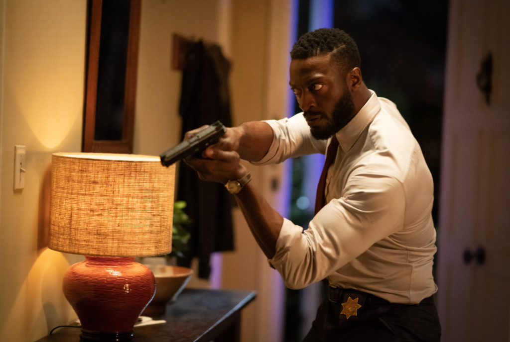 Aldis Hodge in The Invisible Man (2020)
