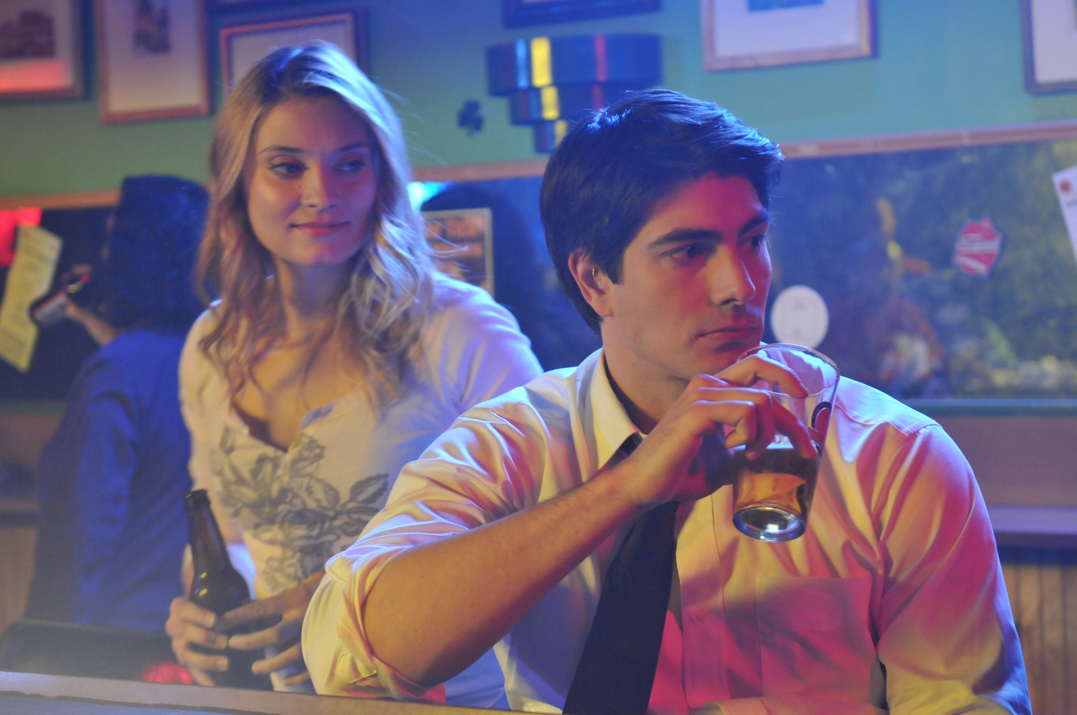 Spencer Grammer and Brandon Routh in Missing William (2014)