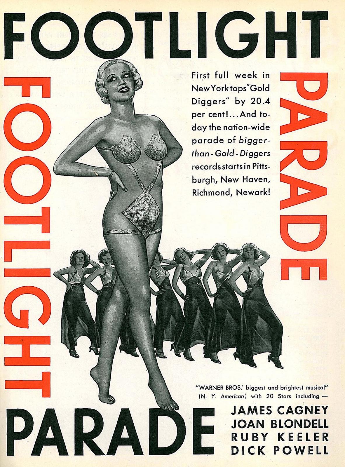 Marlo Dwyer, Patsy Farnum, Patricia Farr, Gloria Faythe, Ruby Keeler, Marietta Myers, and Pat Fara in Footlight Parade (1933)