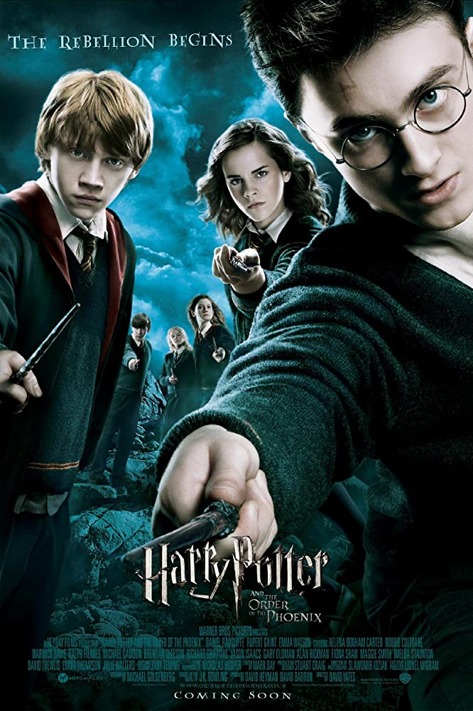 Harry Potter and the Order of the Phoenix (2007) Hindi Dubbed