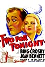 Two for Tonight (1935) Poster