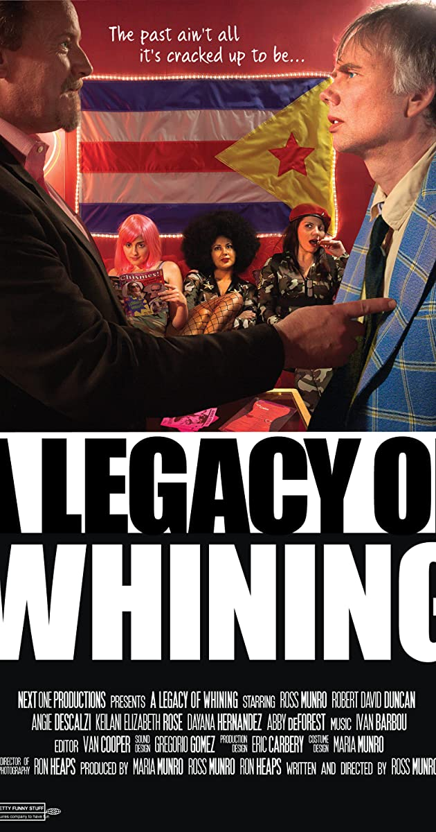 Subtitle of A Legacy of Whining