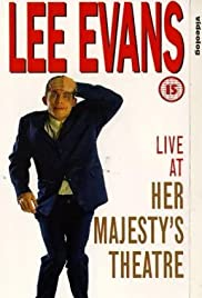 Lee Evans: Live at Her Majesty's Poster