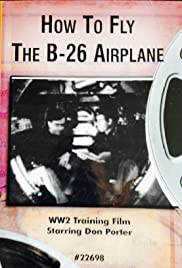 How to Fly the B-26 Airplane Poster