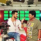 Nikhil Siddharth and Satya in Arjun Suravaram (2019)