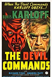 The Devil Commands Poster