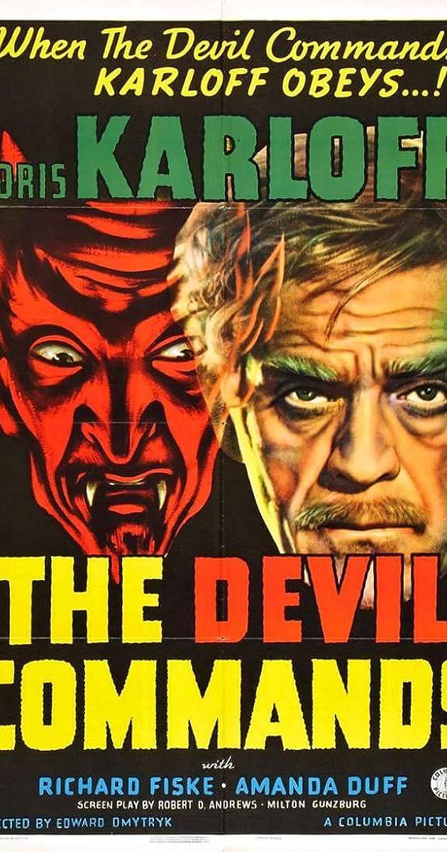 The Devil Commands Movie Poster 1941