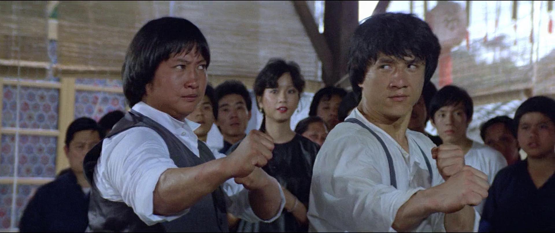 Jackie Chan and Sammo Kam-Bo Hung in A gai waak (1983)