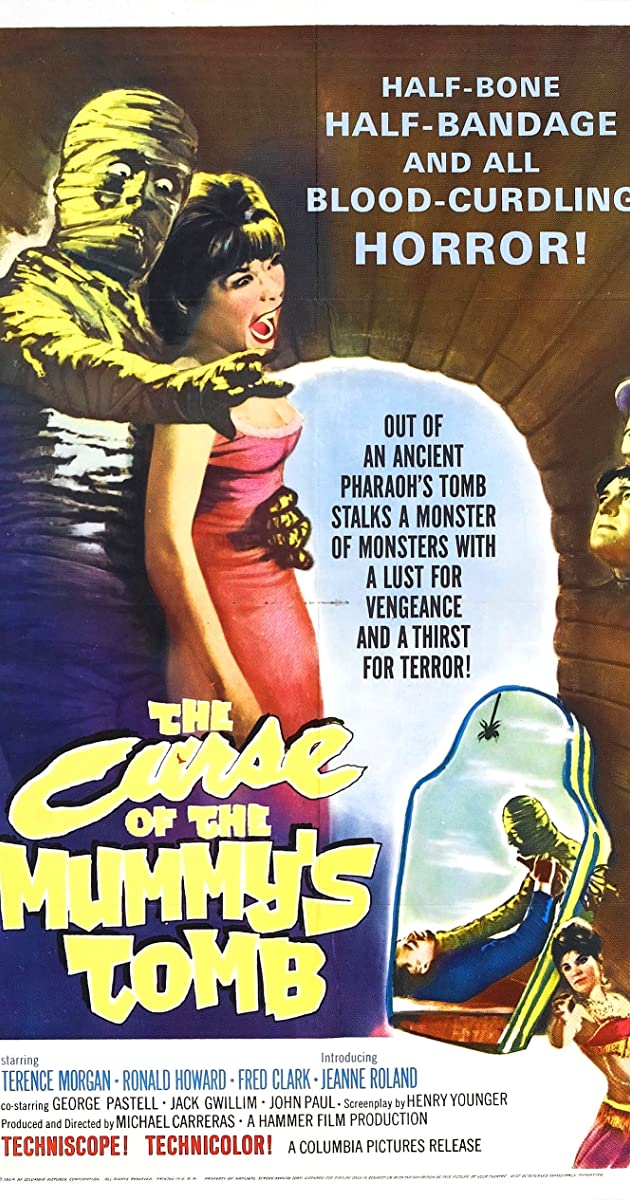 The Curse of the Mummy's Tomb (1964) - IMDb