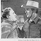 Randolph Scott and Joe Sawyer in Coroner Creek (1948)