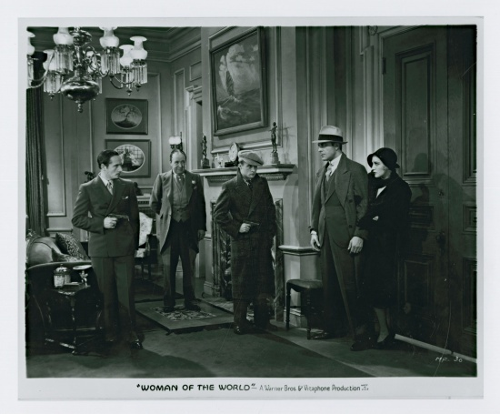 Ricardo Cortez, Bebe Daniels, Dudley Digges, Dwight Frye, and Otto Matieson in The Maltese Falcon (1931)