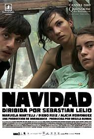 Manuela Martelli, Diego Ruiz, and Alicia Rodríguez in Navidad (2009)