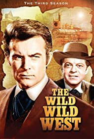 Robert Conrad and Ross Martin in The Wild Wild West (1965)