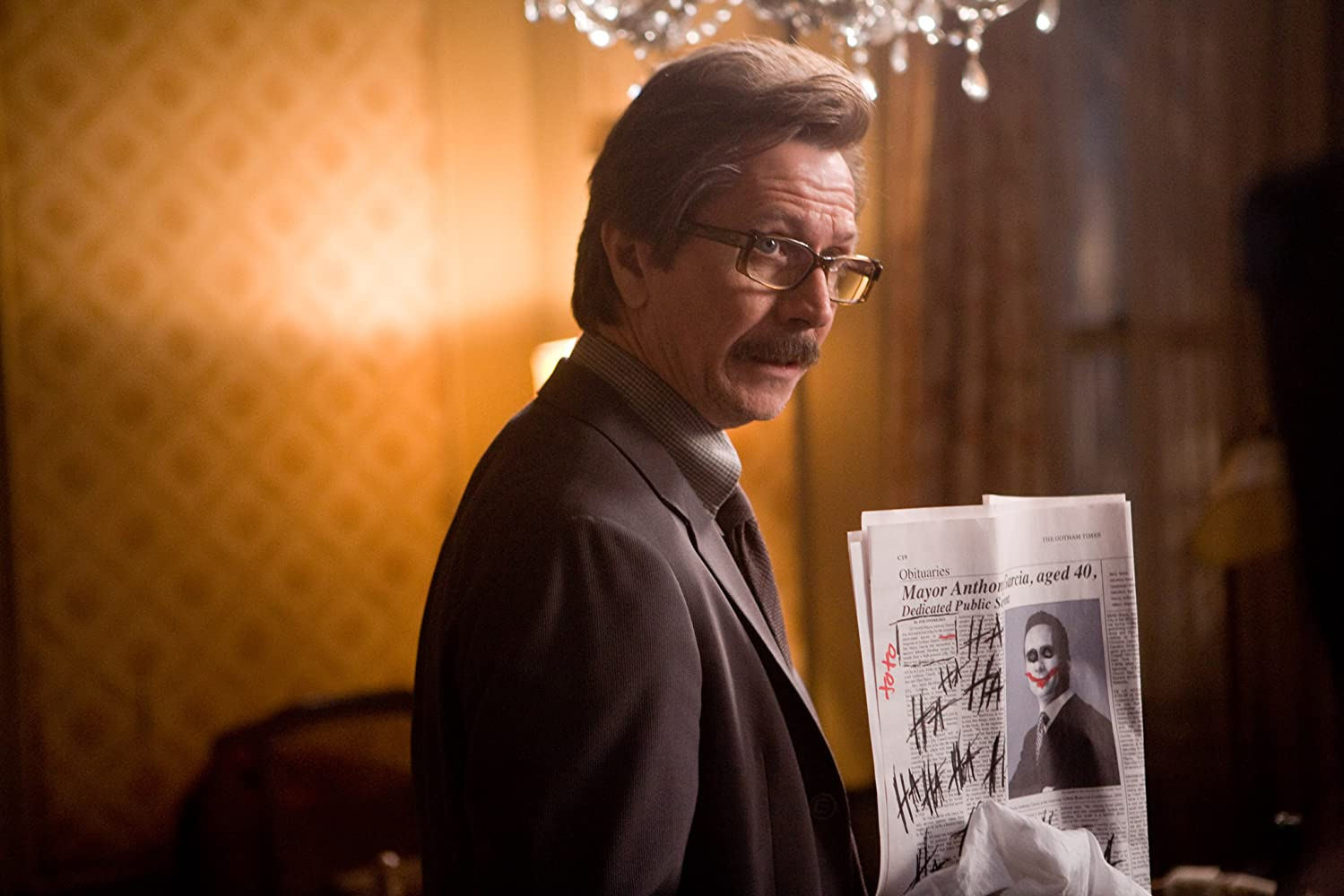 Gary Oldman in The Dark Knight (2008)