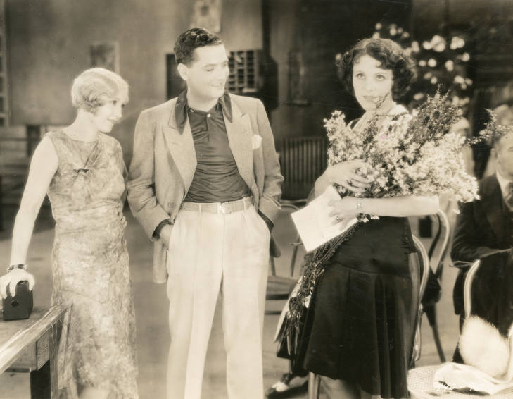 Charles King, Bessie Love, and Nita Martan in Chasing Rainbows (1930)