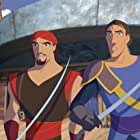Brad Pitt and Joseph Fiennes in Sinbad: Legend of the Seven Seas (2003)