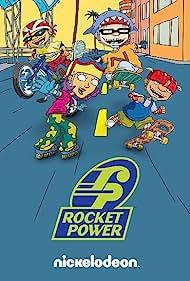 Joseph Ashton, Ulysses Cuadra, Shayna Fox, and Gary LeRoi Gray in Rocket Power (1999)