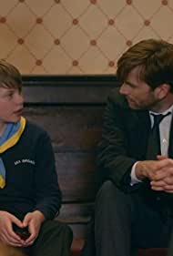 David Tennant and Adam Wilson in Broadchurch (2013)