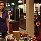 Emily Deschanel and Zooey Deschanel in Bones (2005)