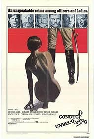 Richard Attenborough, Christopher Plummer, Michael York, Trevor Howard, Stacy Keach, and Susannah York in Conduct Unbecoming (1975)